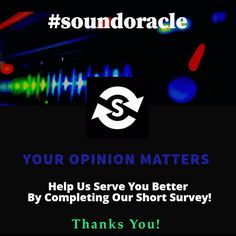 For all #producers  #sounddesigners, help us improve our product – complete this quick #survey!!! TAKE IT HERE:https://goo.gl/Mz8lmE
