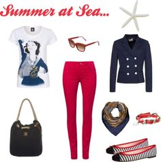 Sommermode - Summer at Sea - The Style Of My Life Of My Life, Sea, My Style, Summer, Outfits, Image, Fashion, Moda, Summer Time