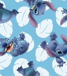 Lilo And Stitch Toss Cotton Fabric 43''