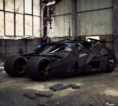 The Greatest Movie Cars Of All Time!? Click on the image to find out if the Tumbler made it to the #1 in the list! #Batmobile #spon