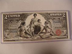 #247: $2.00 Silver Certificate Tillman-Morgan - Realized Price: $4,300.00