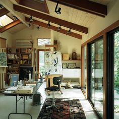 Painting Studio Design, Pictures, Remodel, Decor and Ideas