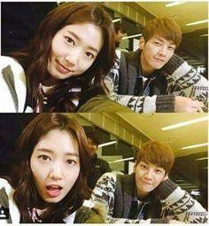 Park shin hye & kim young kwang