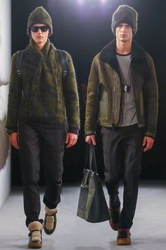 Abel Van Oeveren & Arthur Gosse | Coach Fall/Winter 2015-2016 | London Fashion Week