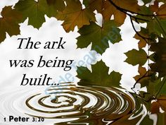 1 peter 3 20 the ark was being built powerpoint church sermon Slide01  http://www.slideteam.net/