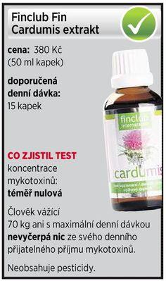 regenerace a očista jater. fin Cardumis - Výtažek z ostropestřce mariánského