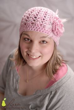 Sweet Cam cam hat pattern 0-adult