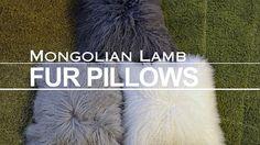 THREE PIECES of 18 X 18 Mongolian Lamb Fur by GlamorousJILL