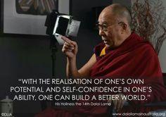 His Holiness the 14th. Dalai Lama