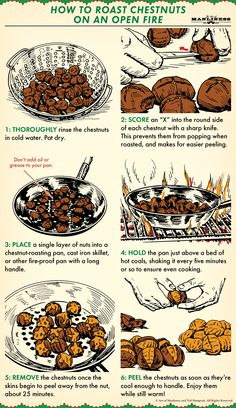 How to Roast Chestnuts Over an Open Fire | The Art of Manliness