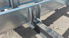 Steel Framing Metal Stud Framing, Steel Framing, Steel Frame Construction, Roof Trusses, Metal Buildings, Building Design, Rooftop, Architecture Design, Woodworking