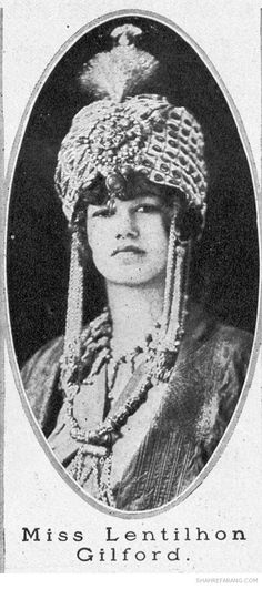"""""""Persian"""" costumes worn by young American society women in 1913 & 1914. As you can see the Western perception of Iran in the early 20th century was of an exotic and mysterious land, but today this has changed somewhat."""