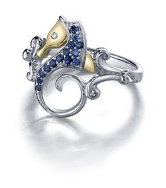 Steven Douglas: Sea horse rin-want, except with either amethysts or diamonds