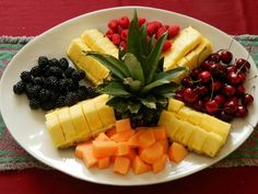 Fresh fruit makes an ideal snack and healthy party food