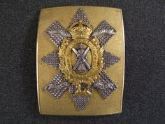 The Royal Highlanders Black Watch Officers Silver & Gilt CBP, £575