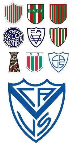 Club Atlético Vélez Sarsfield. Badges, Image Foot, Team Mascots, Old Logo, World Football, Great Logos, Club, Cheerleading, Team Logo