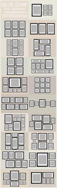 Art & Mañas » Opciones de composición de cuadros para el pasillo o el salón