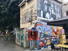 Farmesmarket Tel Aviv Das Onza hat die coolste Location mitten auf dem Flohmarkt