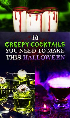 10 Creepy Cocktails You Need To Make This Halloween