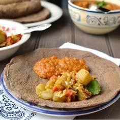 Tikel Gomen (Ethiopian Cabbage, Carrots & Potatoes)