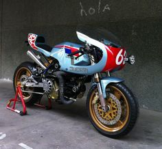 Cagiva 350 morphed into an epic Pantah by Radical Ducati