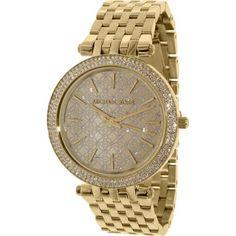 c3c7118ec518 Michael Kors Women s Darci MK3398 Gold Stainless-Steel Quartz Watch Sale  Stainless Steel Watch