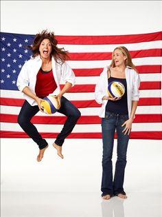 Olympians: Misty May & Kerri Walsh
