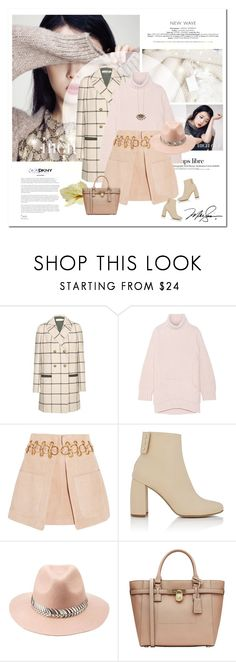 """Be my baby"" by girl-with-ideas ❤ liked on Polyvore featuring Hedi Slimane, Tory Burch, Chalayan, Chloé, DKNY, STELLA McCARTNEY, Charlotte Russe and MICHAEL Michael Kors"