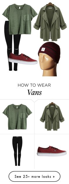 """""""Untitled #16"""" by nuna-aguilar on Polyvore featuring Vans and Chicnova Fashion"""