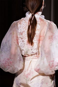 Valentino gorgeous lace and florals