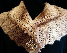 Victoria Knit Shawl Pattern | This elegant shawl will keep you warm and stylish!