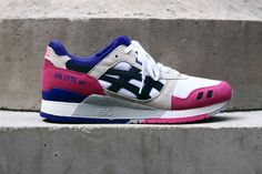 ASICS Gel Lyte III White/Black/Pink