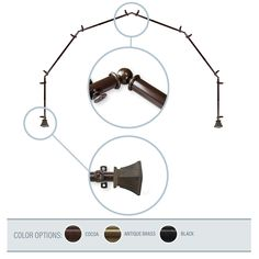 1560 Best Rugs Amp Curtains Gt Curtain Rods Amp Hardware