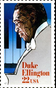 Duke Ellington was a great musician African Princess, Commemorative Stamps, Jazz Art, Duke Ellington, Stamp Pad, African American History, Stamp Collecting, Black Art, Postage Stamps