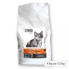 Croquettes sans céréales chat - chaton - Uniq Cat Les Croquettes, Carnivore, Cats And Kittens, Animaux