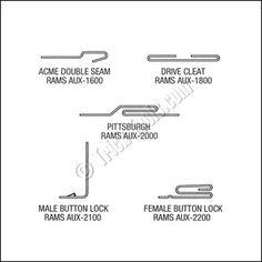 Image result for acme lock seam