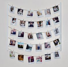 Hanging Photo Display for a personalised gift