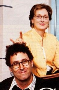 Meryl Streep with Mike Nichols-(someone said that in original post) No, it's with Tony Kushner, right?