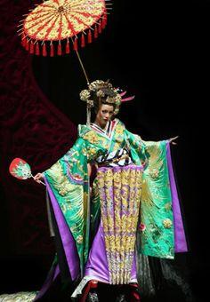 Guo pei, défilé la légende du dragon