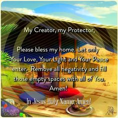Blessing and protection.