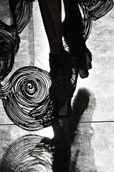 Rodarte, spring 2012 #NYFW #runway #details #Van_Gogh