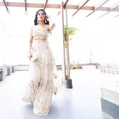 Mitali Sagar in a Natasha Dalal Lehenga