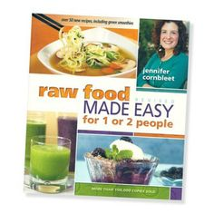 If you'd like to eat more raw foods but don't know how to get them into your diet, this book is for you. Jennifer Cornbleet is a nationally recognized raw-food chef and instructor who specializes in making raw-food preparation exquisitely simple.