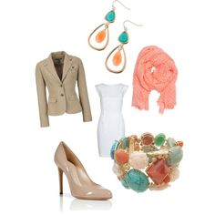 Spring Work outfit, created by jjtrebble on Polyvore