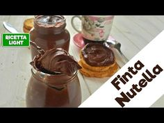 La mia finta Nutella calorie a porzione) Nutella Light, Chocolate Fondue, Frosting, Lose Weight, Weight Loss, Curry, Healthy Recipes, Snacks, Make It Yourself