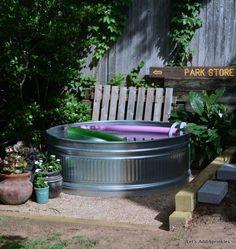 Hometalk :: Stock Tank Pool