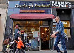 Eisenberg's Sandwich Shop -- Continuing Fine Quality Since 1929. Credit: Beth Lennon, RetroRoadmap.org