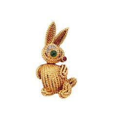 Van Cleef & Arpels Charming Bunny Rabbit Brooch