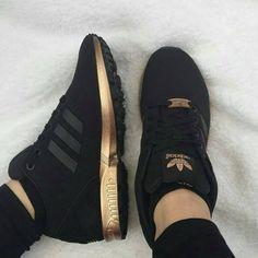 buy popular ef1a9 6ec0e official store adidas zx flux rose gold and black lyrics ...