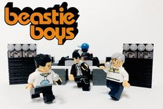 Famous Bands Recreated in LEGO - Beastie Boys
